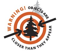 warning: objects are closer than they appear