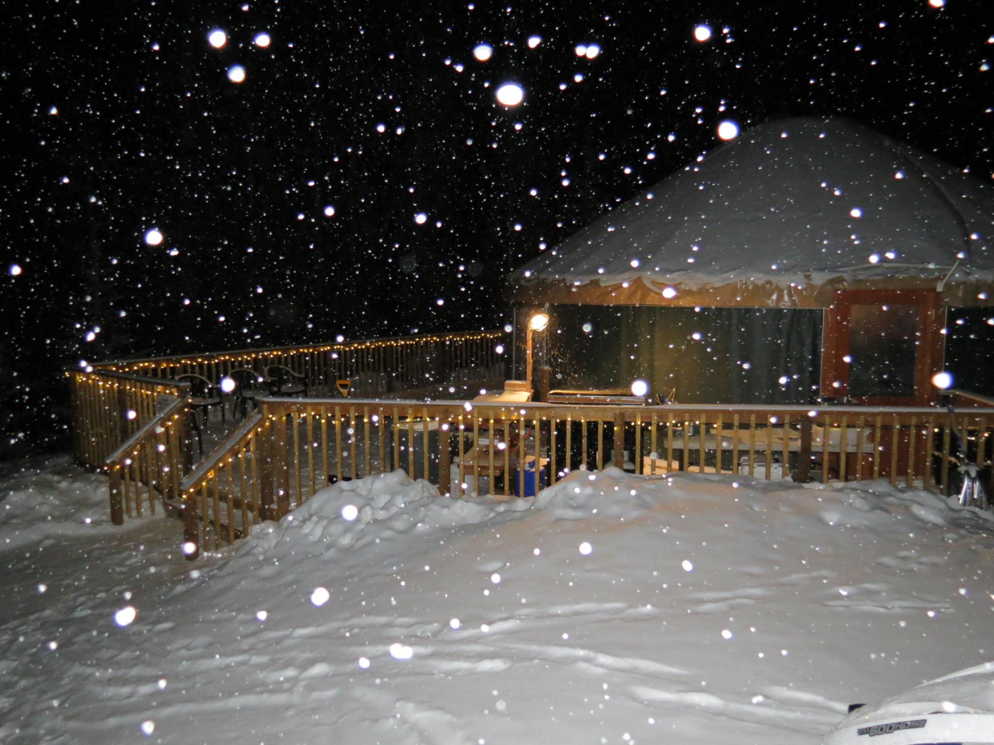 Mountaintop Yurt Dinners