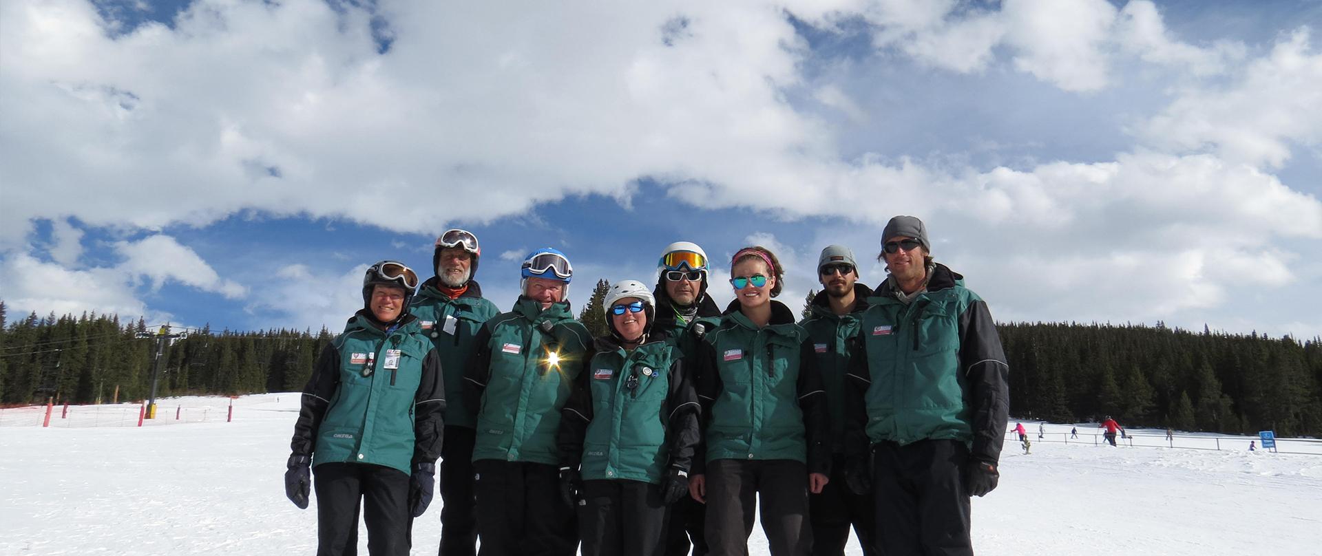 group of Ski School instructors