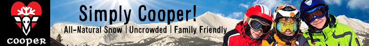 Ad for Ski Cooper
