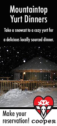 Yurt Dinner Ad