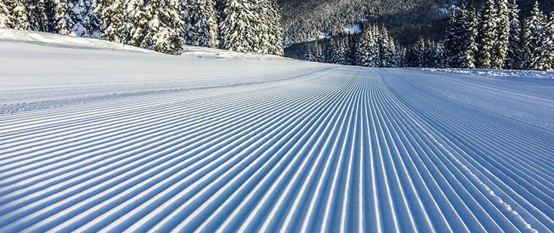 soft corduroy snow surface