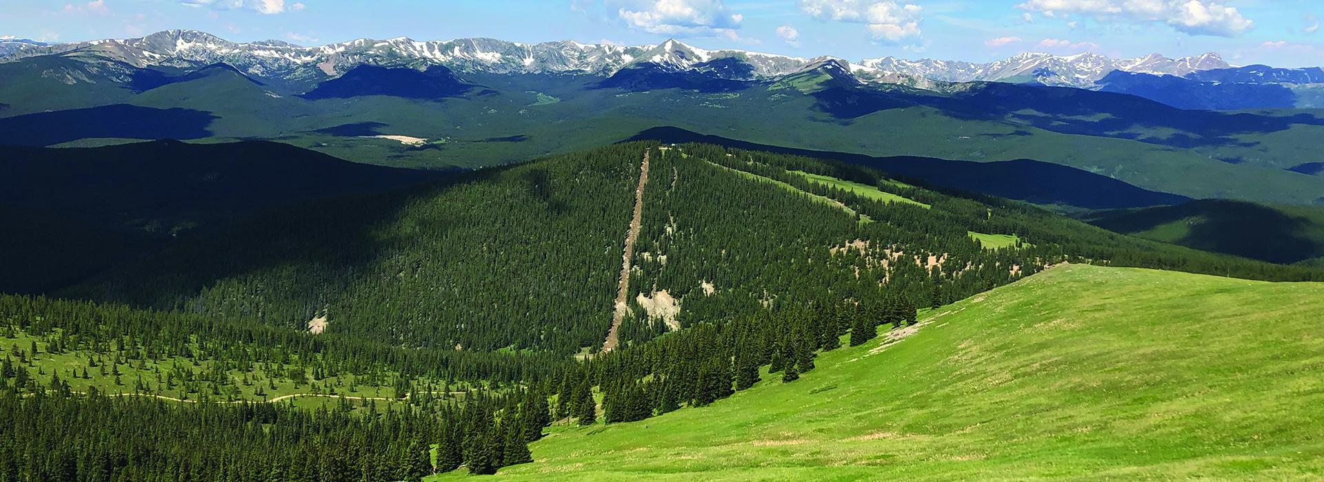 View of new terrain