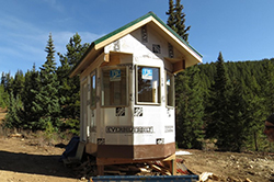 New lift shack