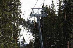 new lift at Cooper