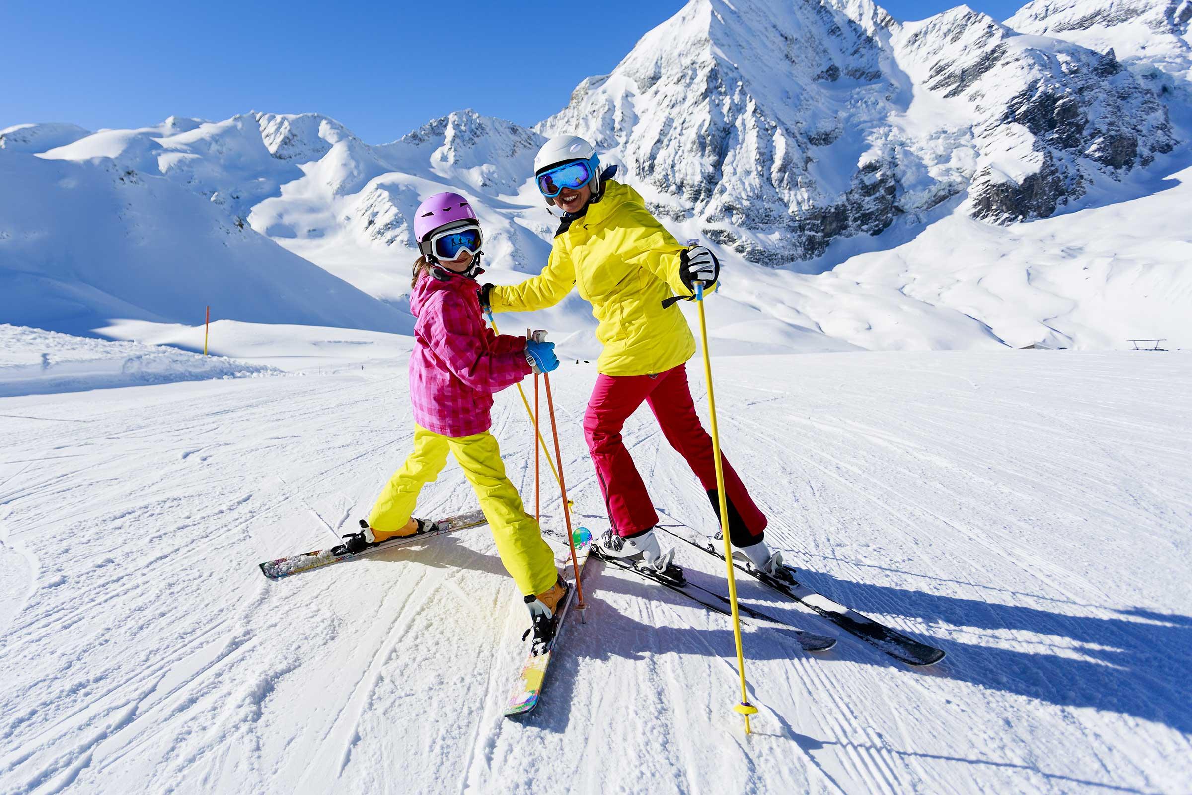 как выглядят горные лыжи фото выполняют только